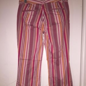 Multicolor Strip pant